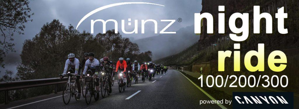 ABGESAGT: münz night ride 2018 @ Canyon Bicycles Koblenz  | Koblenz | Rheinland-Pfalz | Deutschland